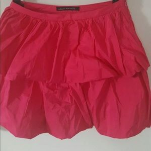 Zara Hot pink mini Skirt SIZE XS